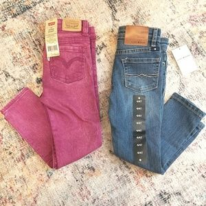 Levi's and Lucky Brand Jean's - 4T/4